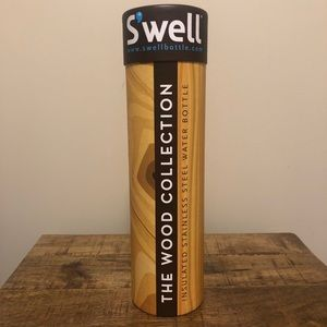 S'well insulated stainless steel water bottle